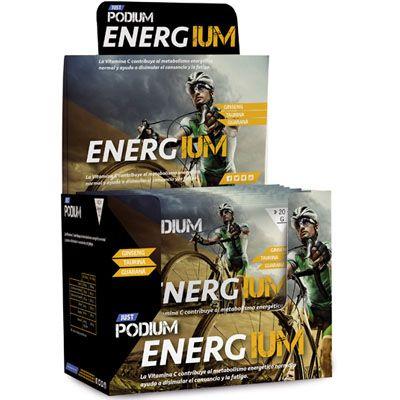 Aumenta tu energía con Energium gracias a su aporte de taurina y guaraná