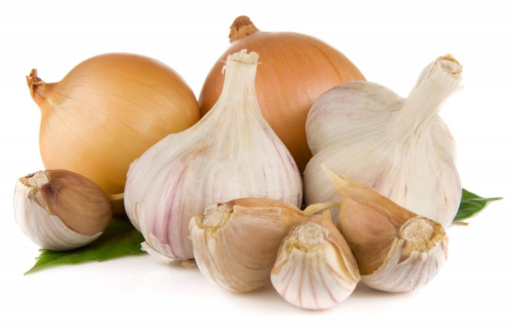 Sulfuros: ajo y cebolla