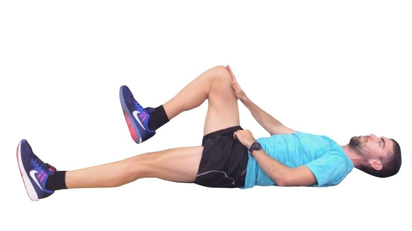 ejercicios para abdominales: cucaracha 2