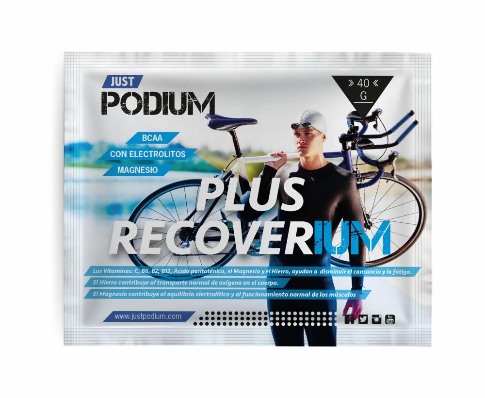 Plus recoverium 1 sobre BCAA Leucina, Isoleucina, Valina