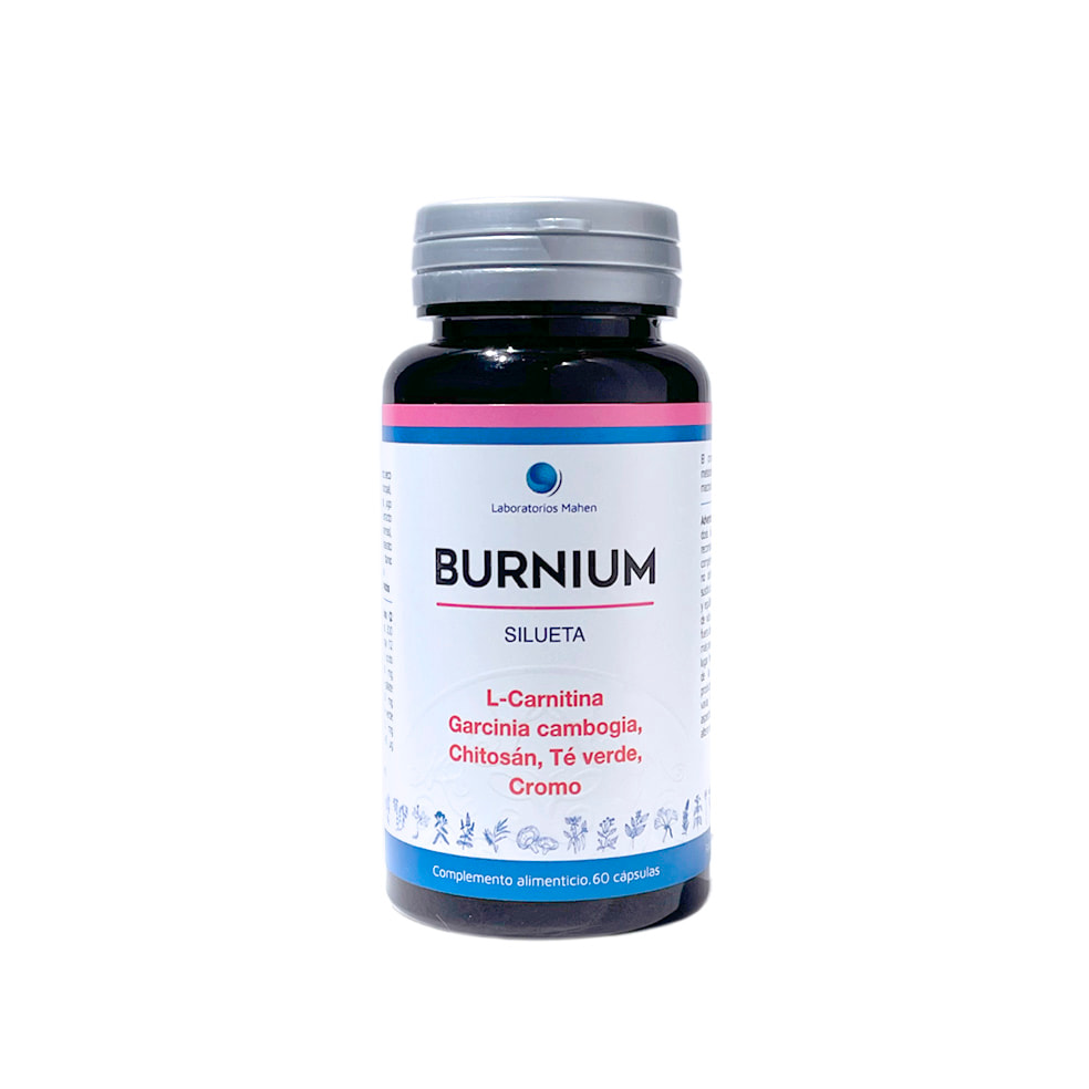 BURNIUM, triple acción, Termogénico   Saciante   Silueta