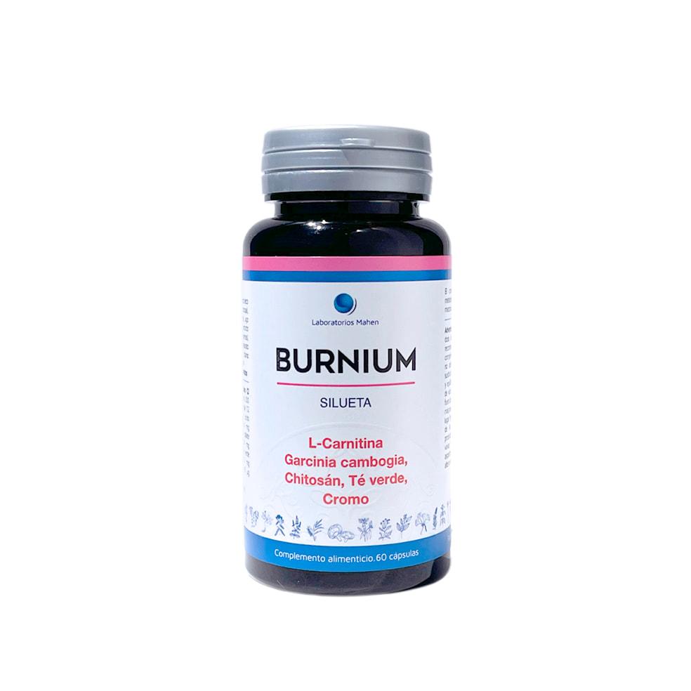 BURNIUM, triple acción, 60 cápsulas.