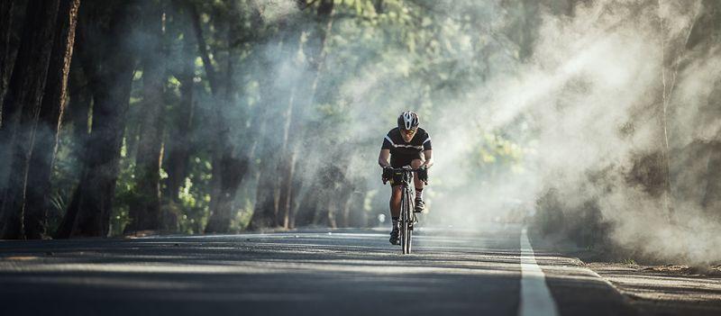 Con una buena técnica, el ciclista puede enfrentarse a cualquier tipo de terreno y cuestas.