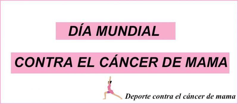 deporte contra el cáncer de mama