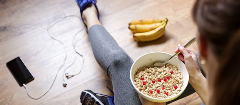El desayuno como comida principal de los deportistas