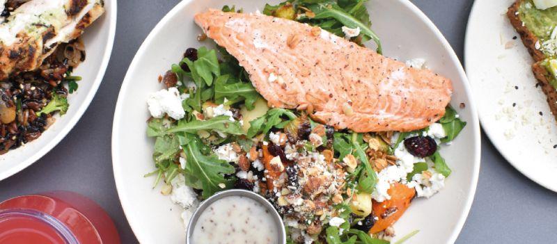 Comida saludable: grasas y proteínas