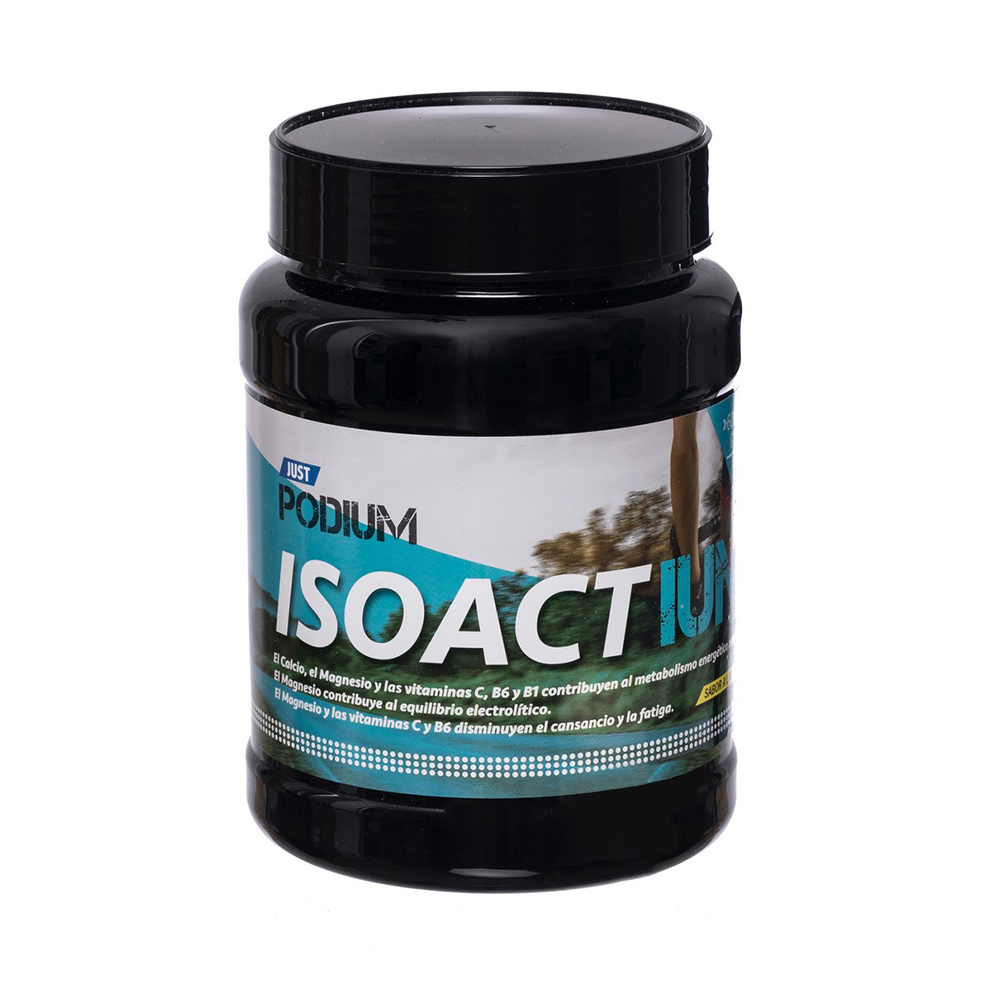 ISOACTIUM, 20 tomas que ayudan a recuperar minerales y el equilibrio electrolítico.