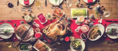 Como sobrevivir a las comidas copiosas de navidad