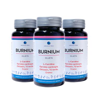 Por la compra de un pack de 3 Burnium una camiseta técnica deportiva de regalo