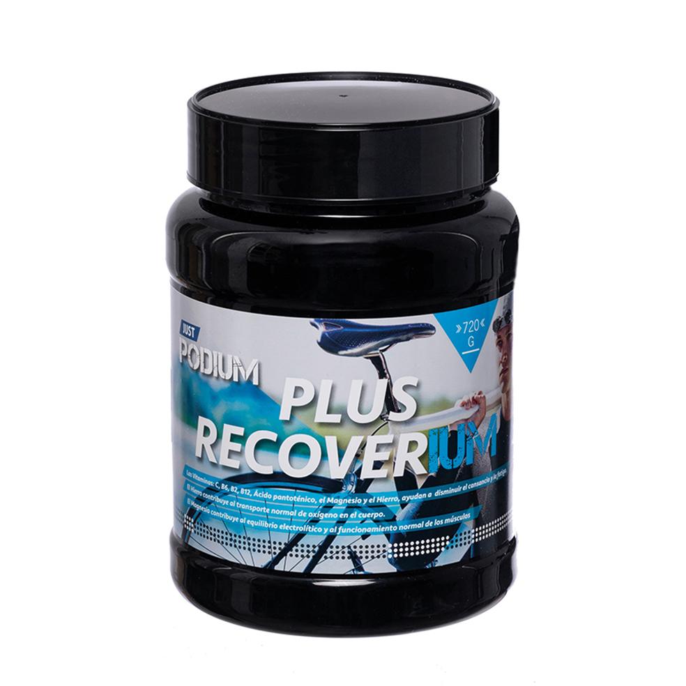 PLUS RECOVERIUM 720 Gr, 18 tomas para ayudar a la recuperación muscular y su buen funcionamiento