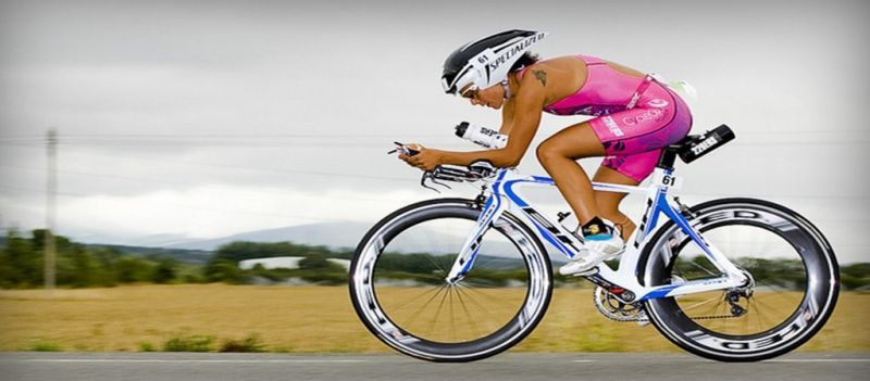 La deportista Saleta Castro obtiene el sexto puesto en el triatlón de Frankfurt