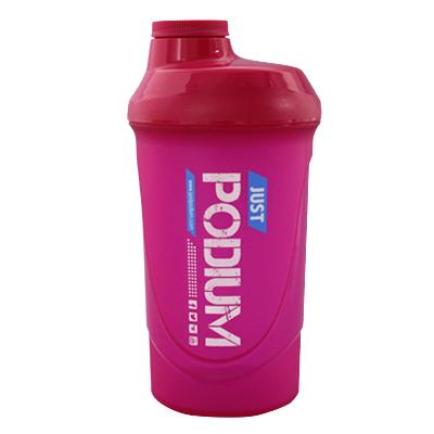 Shaker con capacidad de 600 ml, magenta, para una perfecta disolución del producto